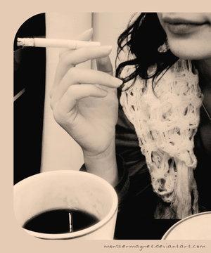 Статусы про кофе и сигареты